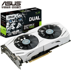 华硕(ASUS)DUAL-GeForce GTX1060-O6G 显卡
