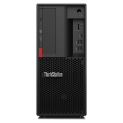 联想(Lenovo)ThinkStation P330 i7-8700(3.2G 6C)/32G/256G SSD+2TB/Quadro P620 2GB专业独显/DVDRW/250W/三年免费上门服务工作站
